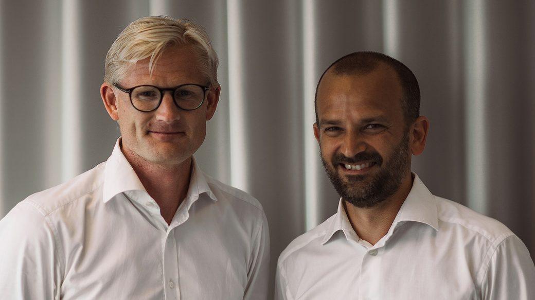 Oliver Mohseni medgrundare Froda och Bamboras vd Patrik Göthlin